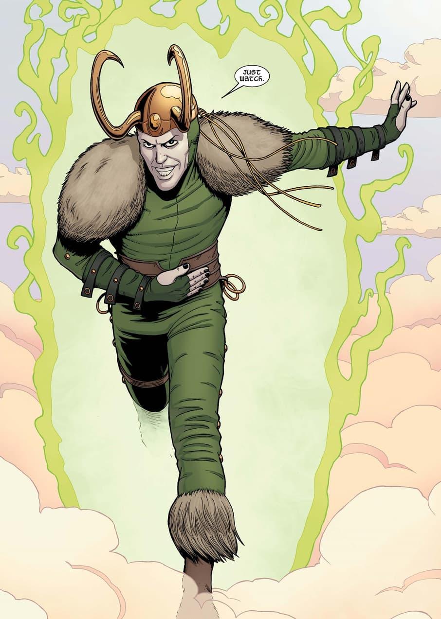 Loki Being Loki