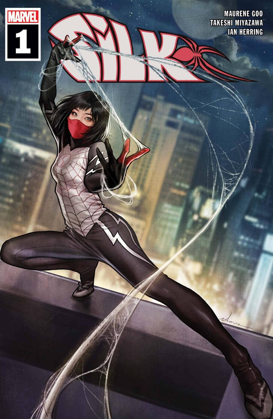 Cover to SILK (2021) #1