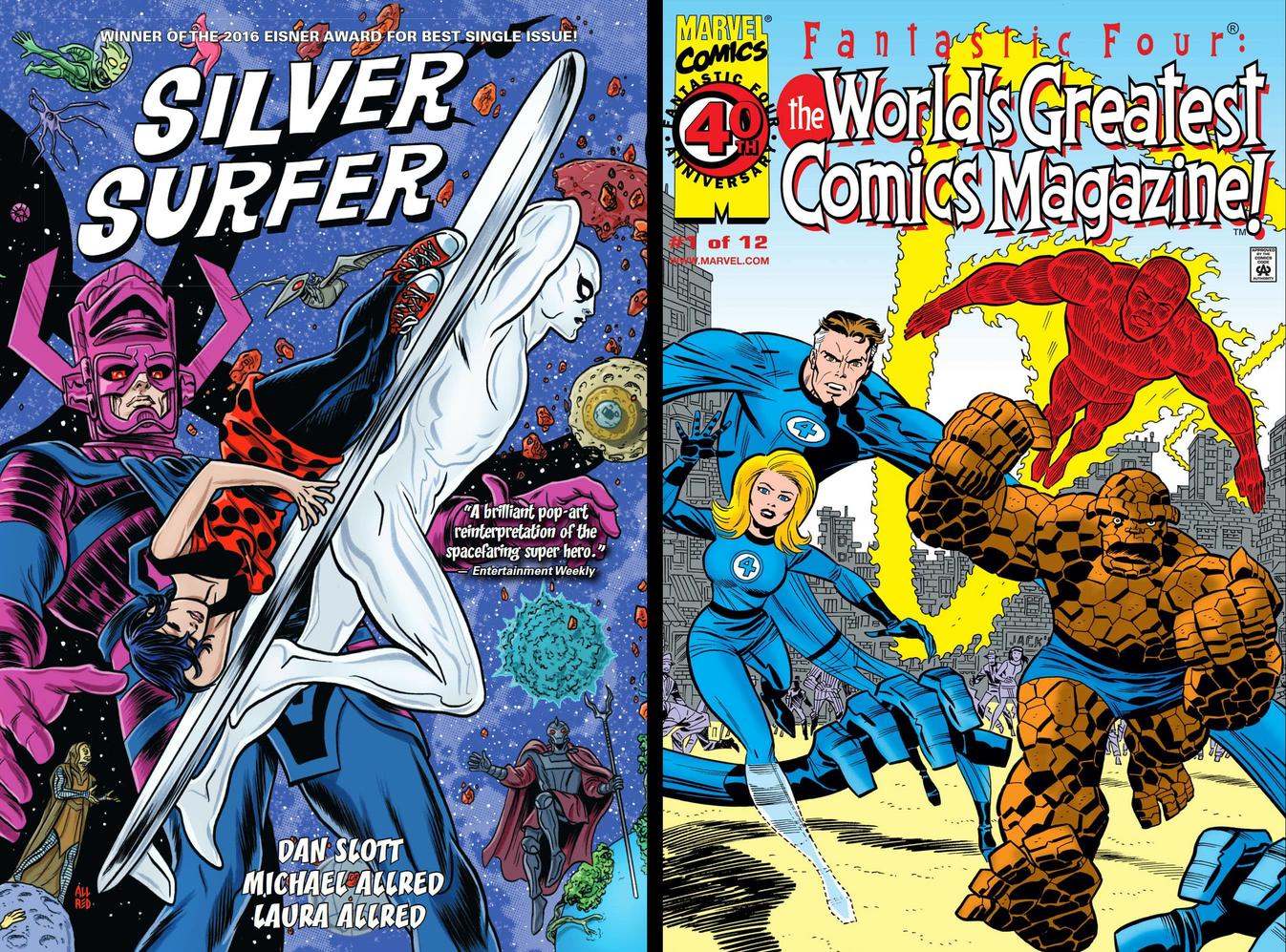 Silver Surfer Omnibus and Fantastic Four