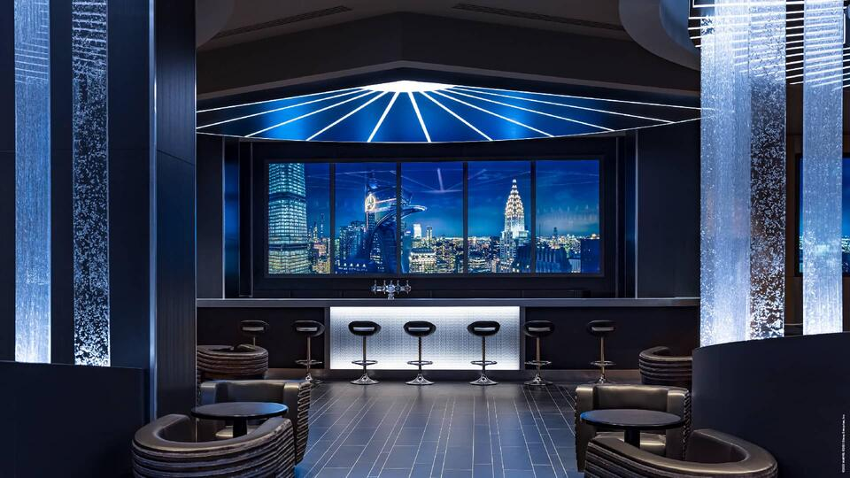 Disney's Hotel New York – The Art of Marvel — Skyline Bar