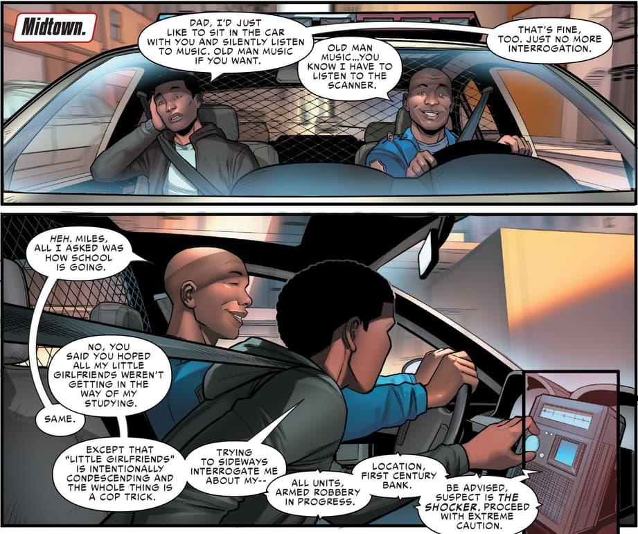 Miles Morales in Spider-Man: City at War
