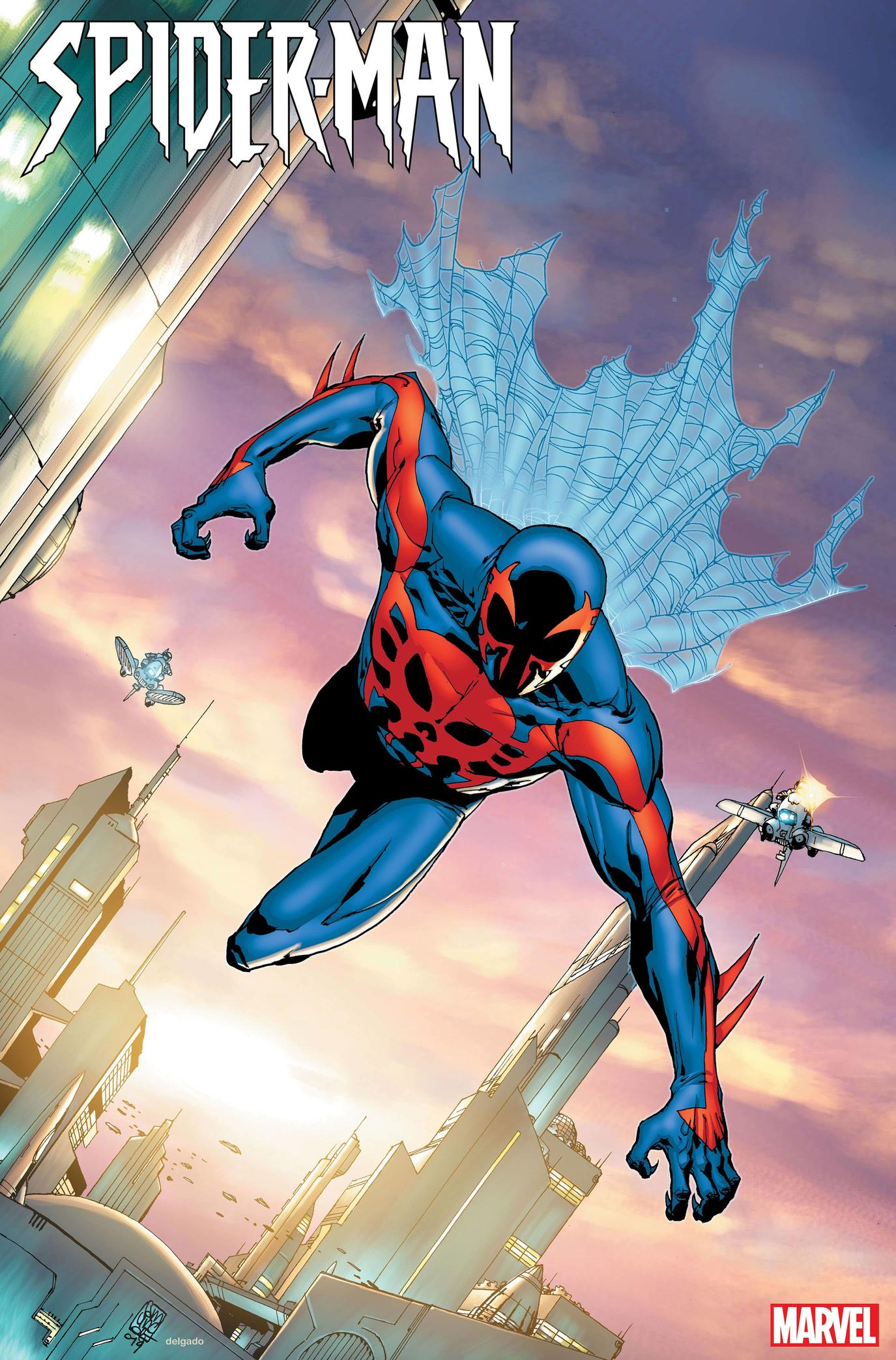 Spider-Man 2099 variant cover