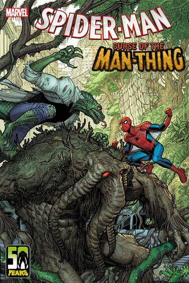 Spider-Man Curse of the Man-Thing variant cover