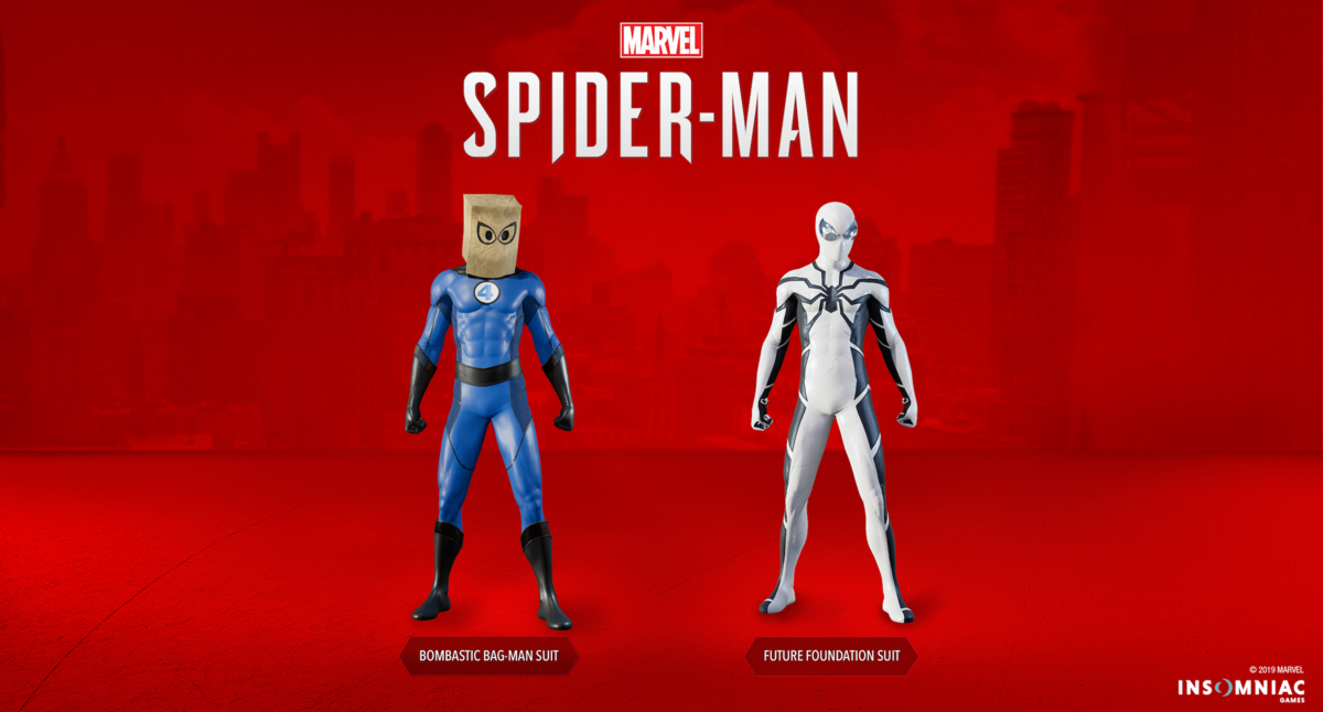 Marvel's Spider-Man | Fantastic Four-inspired suits