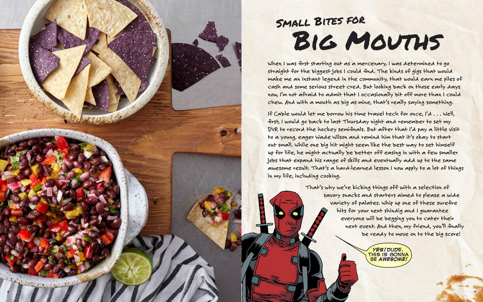 Cooking with Deadpool - Small Bites for Big Mouths