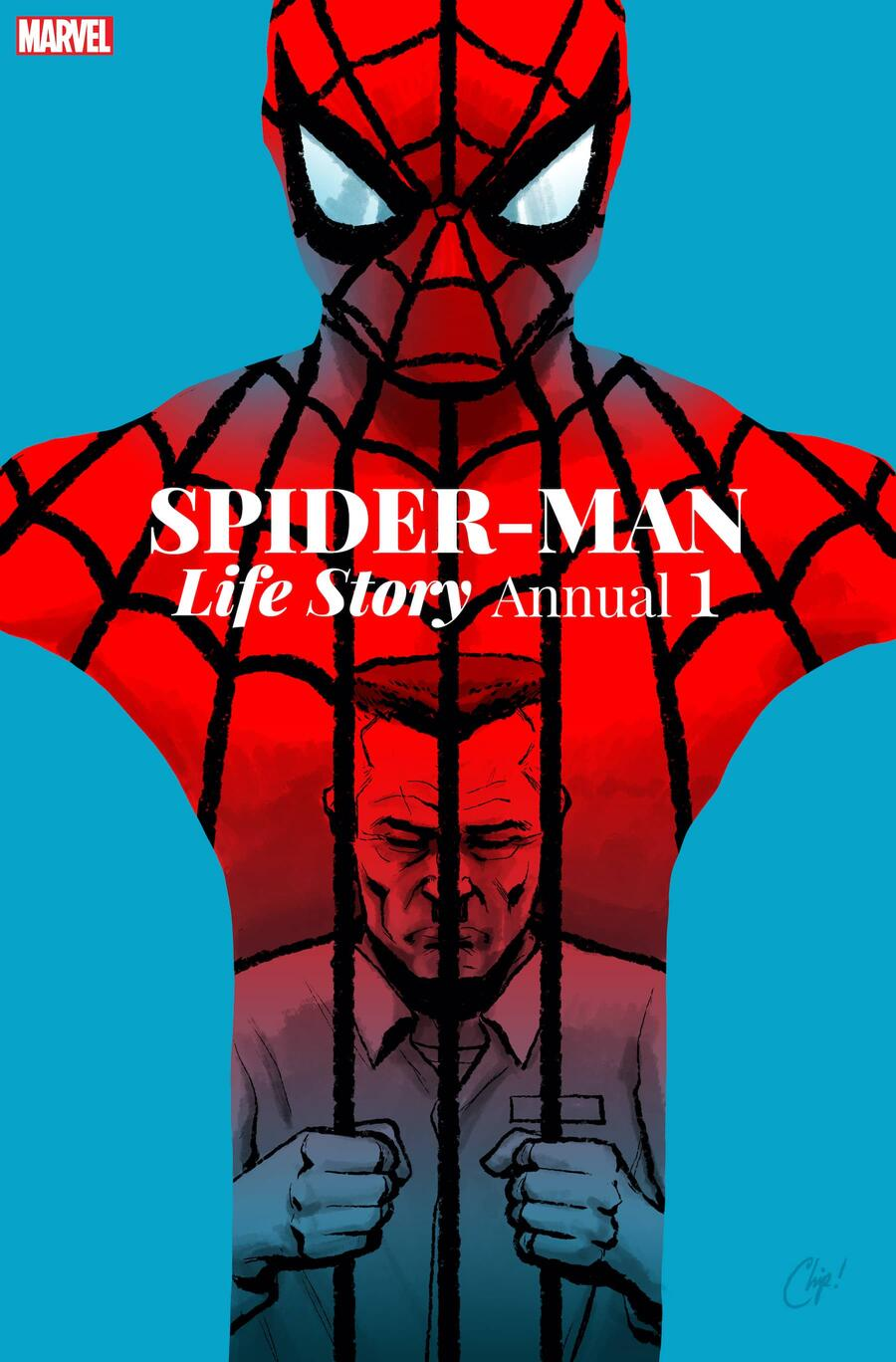 SPIDER-MAN: LIFE STORY ANNUAL #1 cover by Chip Zdarsky