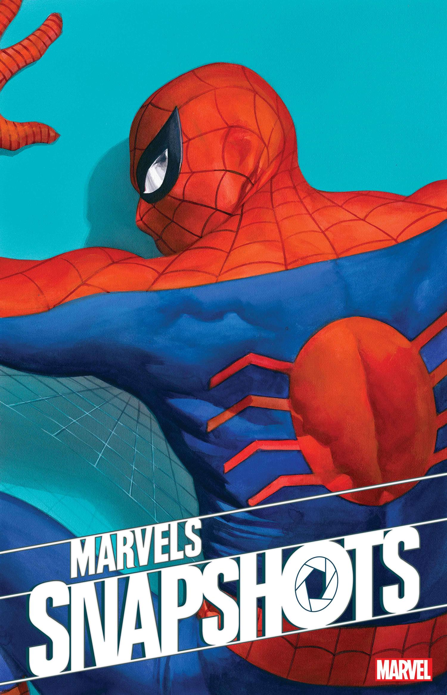 MARVELS SNAPSHOTS: SPIDER-MAN cover by Alex Ross