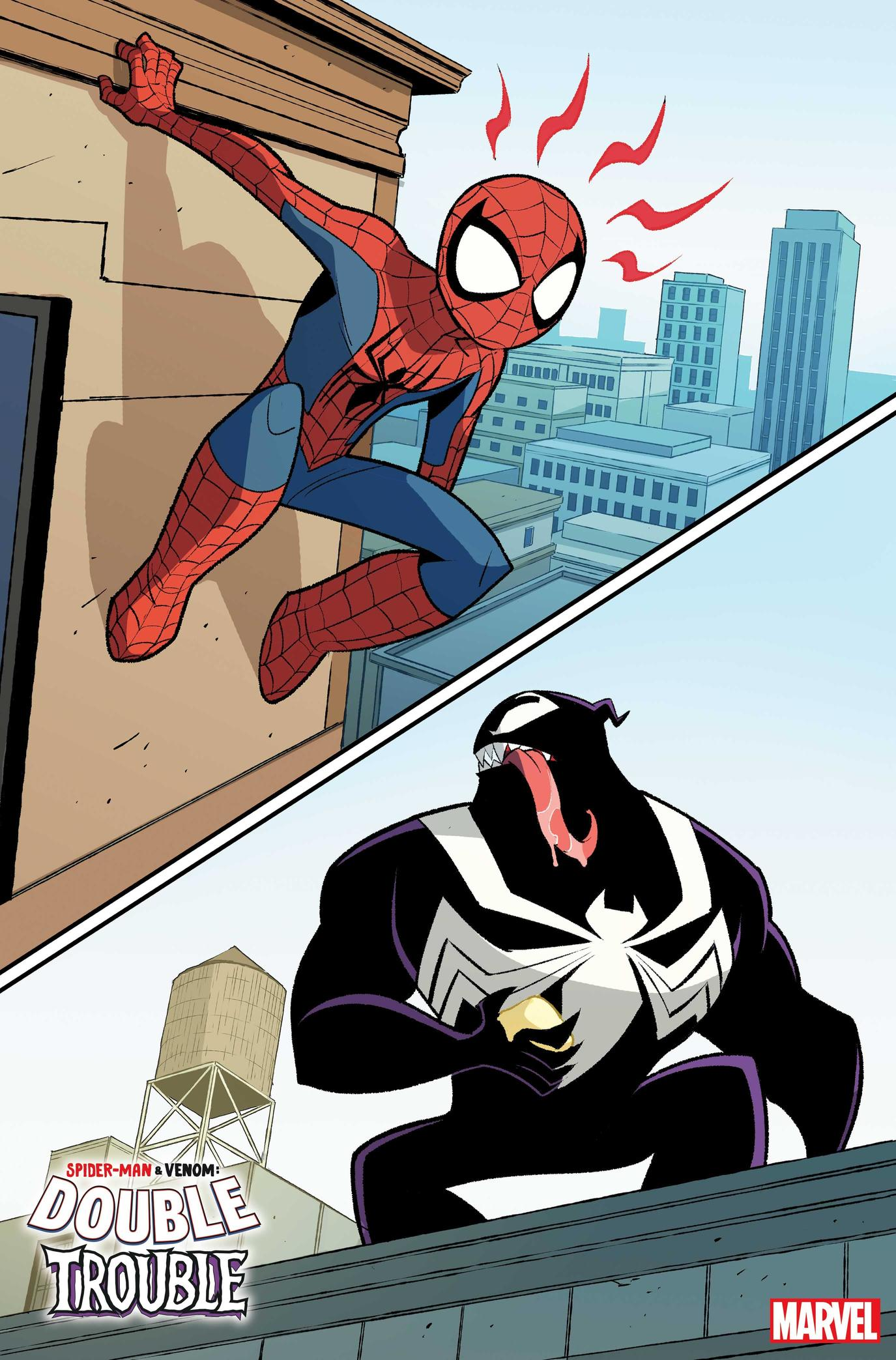 SPIDER-MAN & VENOM: DOUBLE TROUBLE #1