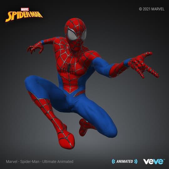 SECRET-RARE – Spider-Man – Ultimate Animated