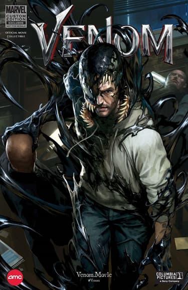 Venom Custom Comic