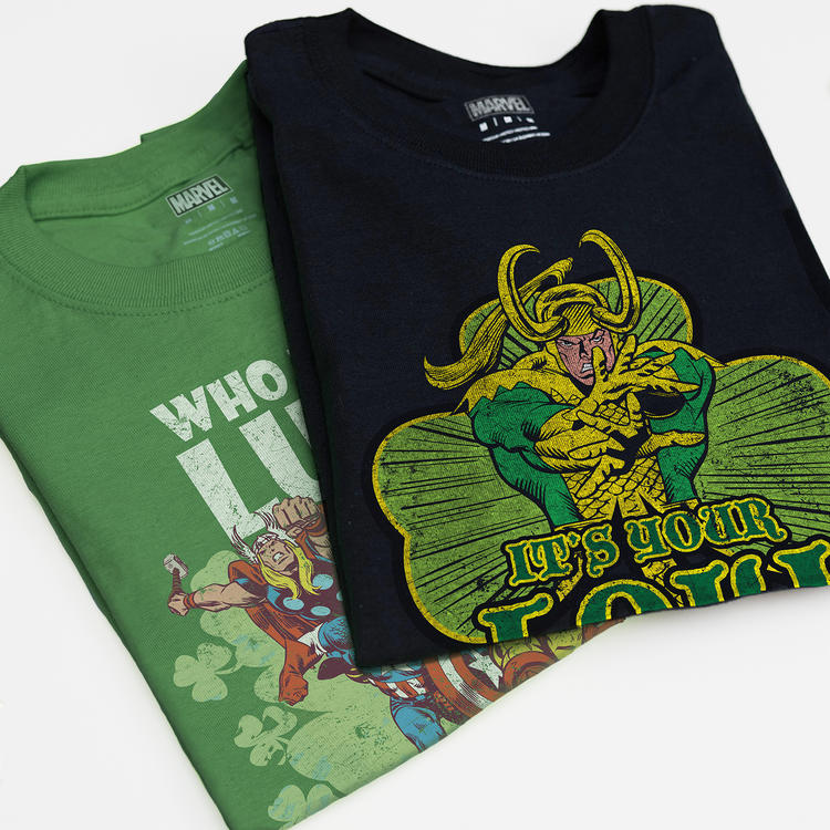 Thor themed St Patrick's Day shirt