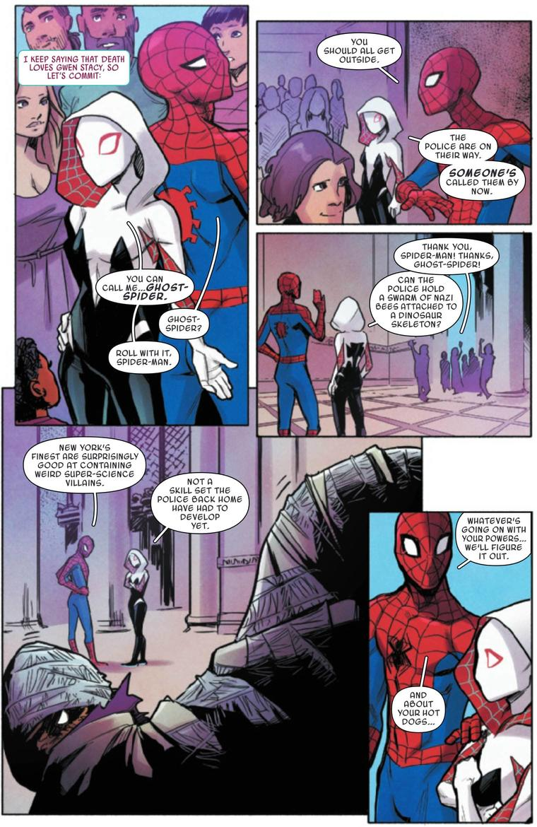 Page from Spider-Gwen: Ghost-Spider #10
