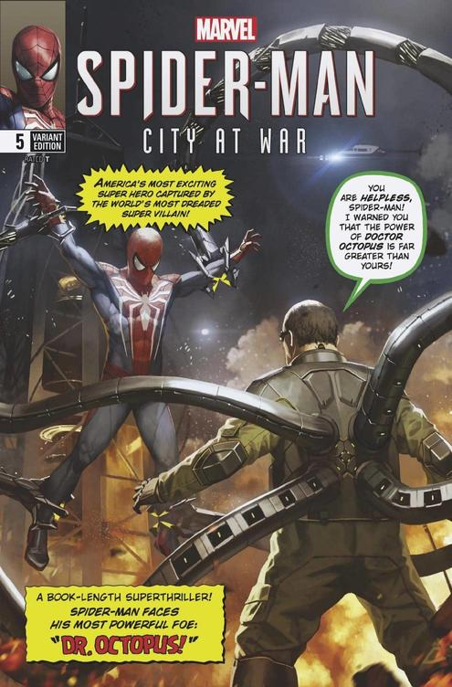 SPIDER-MAN: CITY AT WAR (2019) #5