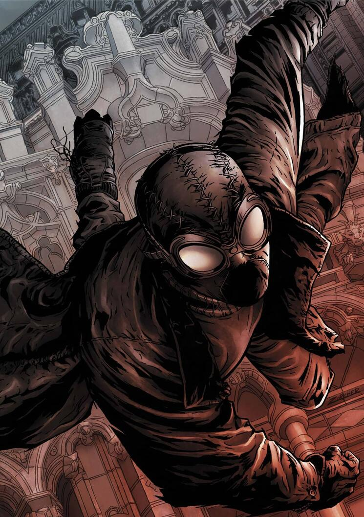 Cover to SPIDER-MAN NOIR (2008) #2.