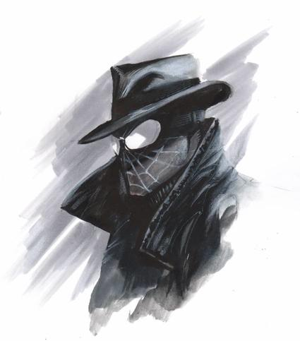 Spider-Man Noir concept art