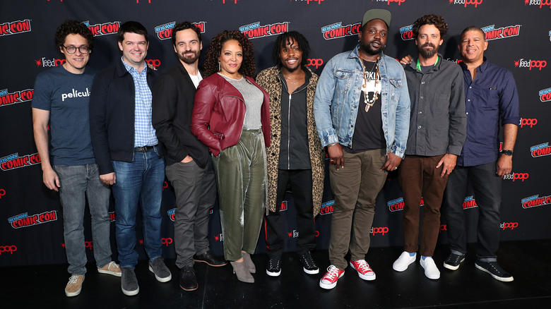 Spider-Man: Into the Spider-Verse cast and creators at NYCC