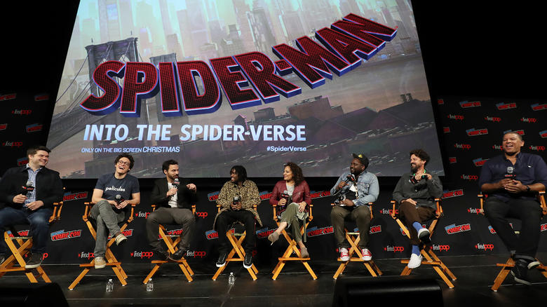 Spider-Man: Into the Spider-Verse NYCC Panel