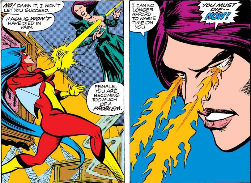 Morgan vs Spider-Woman