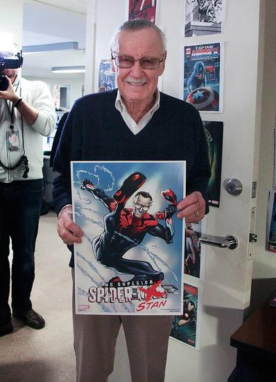 The Day Stan Lee Came to the Marvel Office