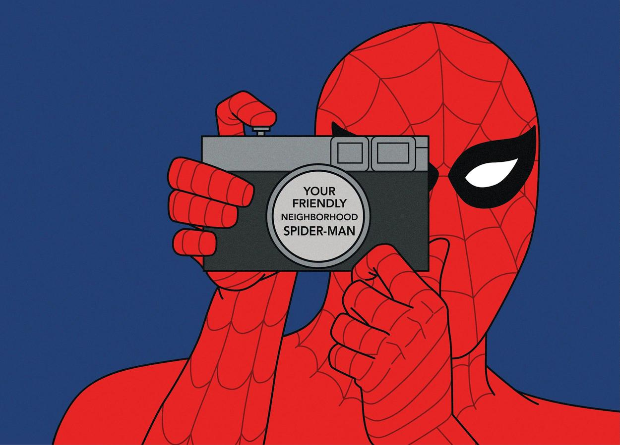Spider-Man With Camera