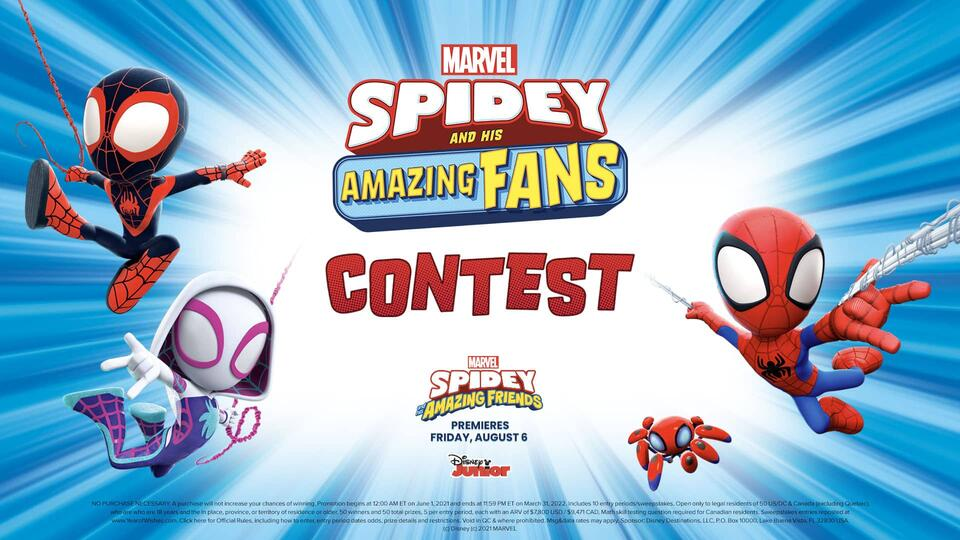 Spidey and his Amazing Fans! Contest