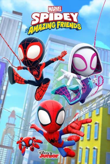 Marvel's Spidey and His Amazing Friends Disney Junior TV Show Season 1 Poster