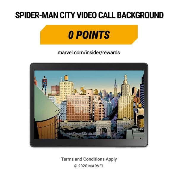 Marvel Insider Featured Reward: Spider-Man City Video Background