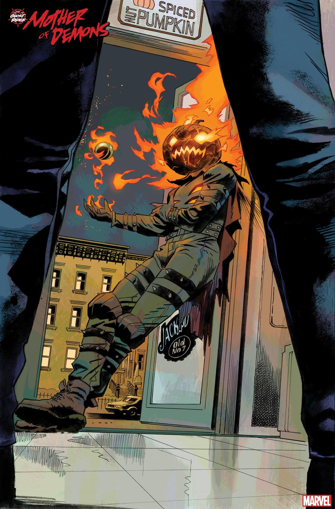 SPIRITS OF GHOST RIDER: MOTHER OF DEMONS #1 preview art by Roland Boschi and Dan Brown