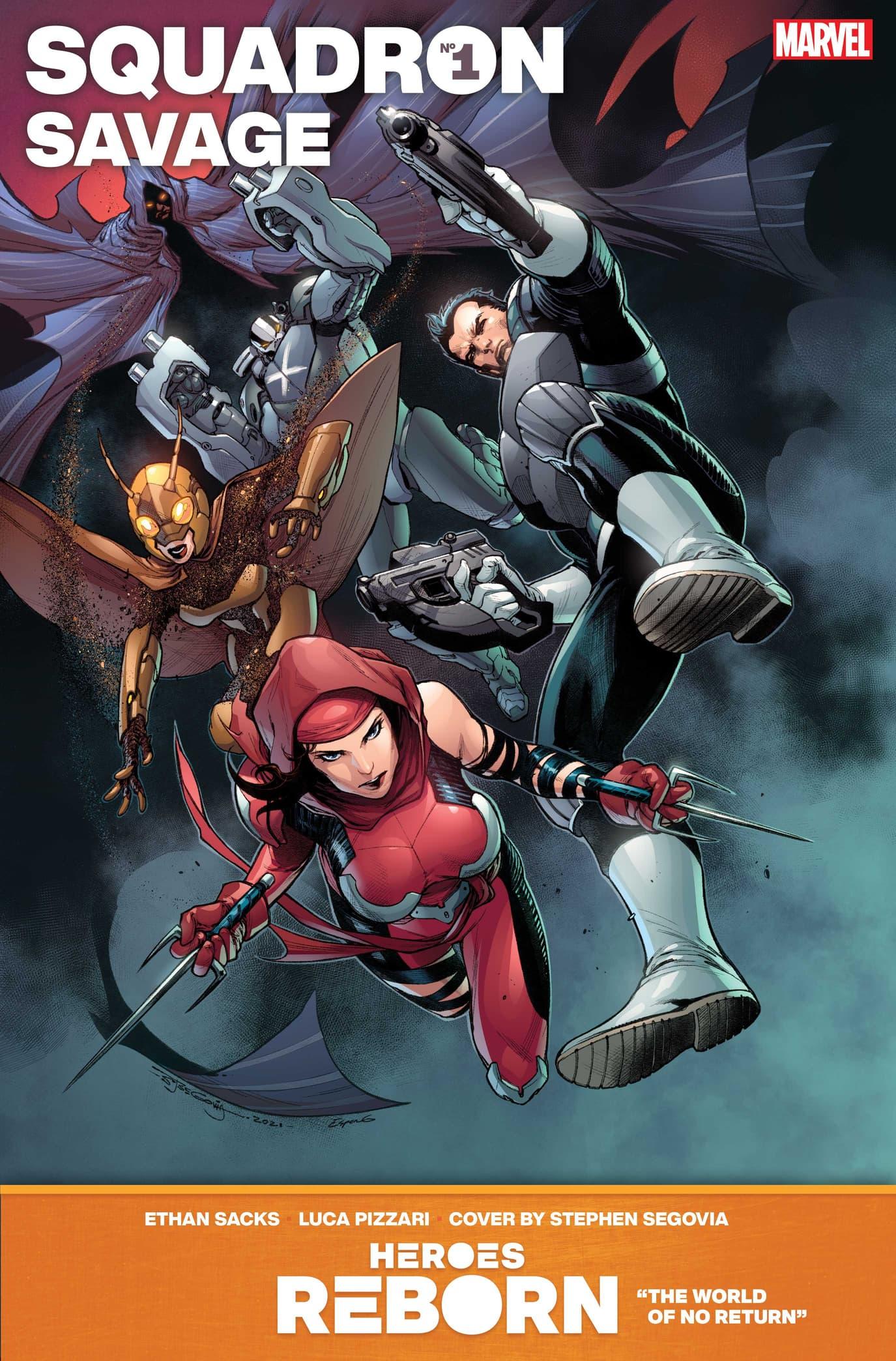Heroes Reborn: Squadron Savage