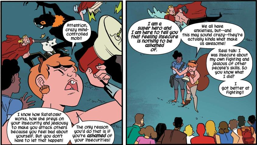 Squirrel Girl on insecurity