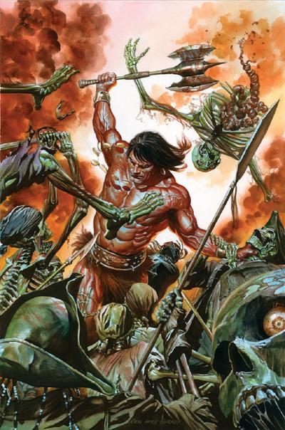 Savage Sword of Conan cover by Alex Ross