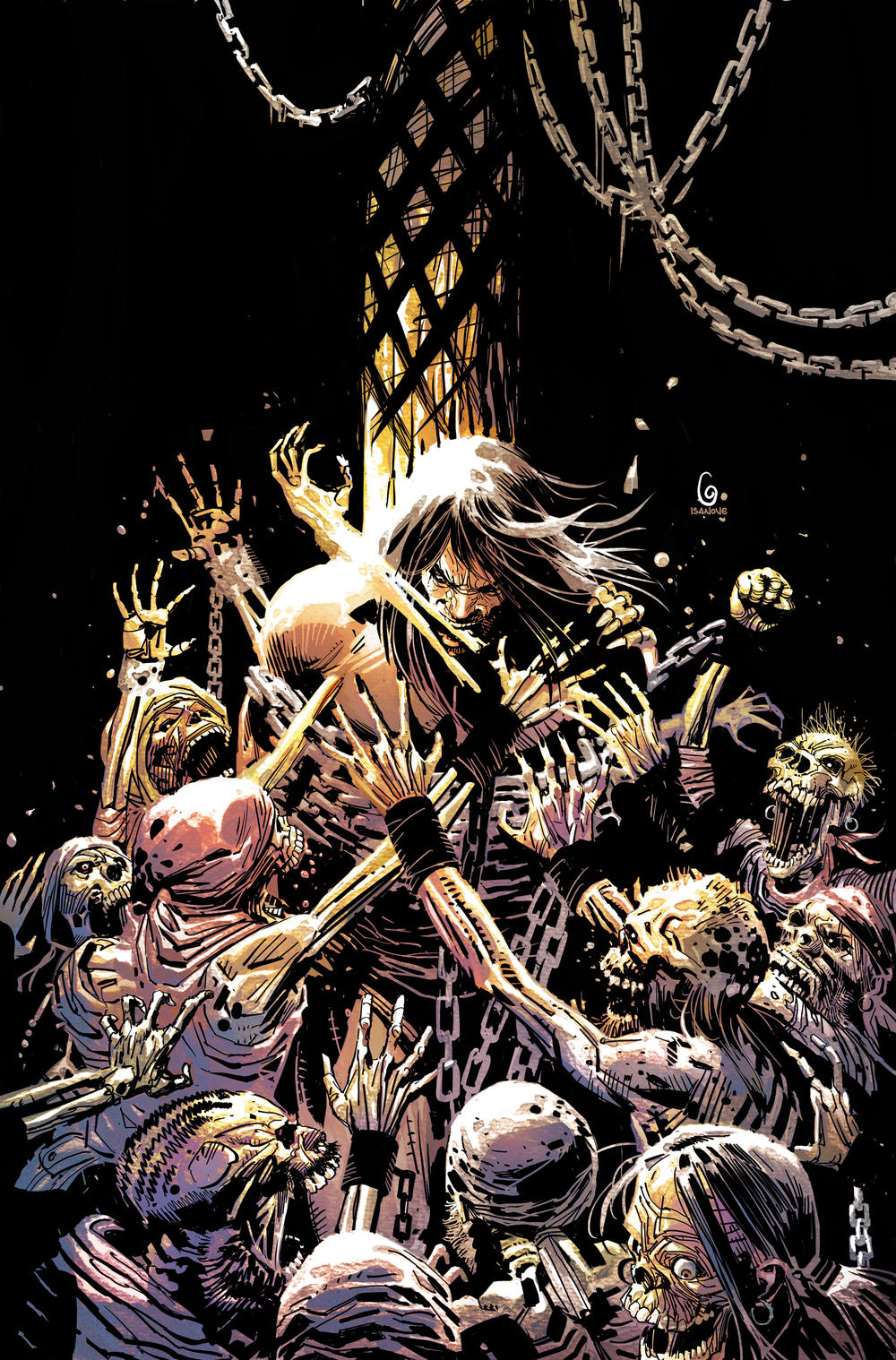 Savage Sword of Conan variant cover by Ron Garney