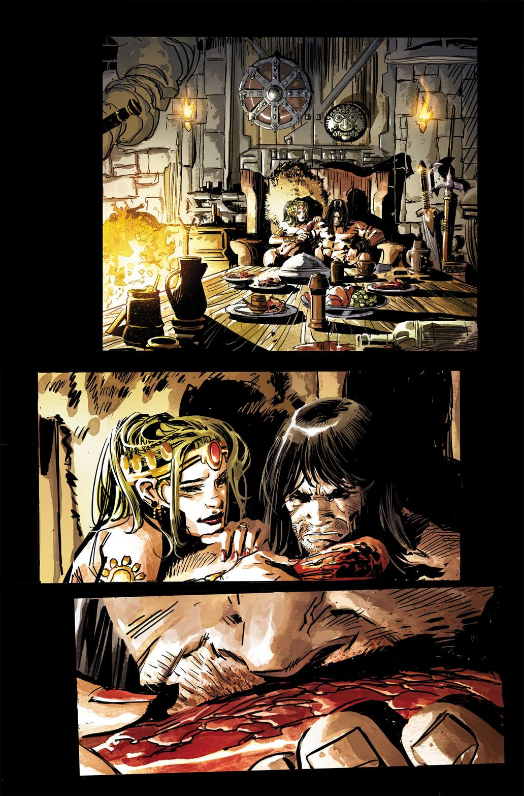 Preview page from Savage Sword of Conan