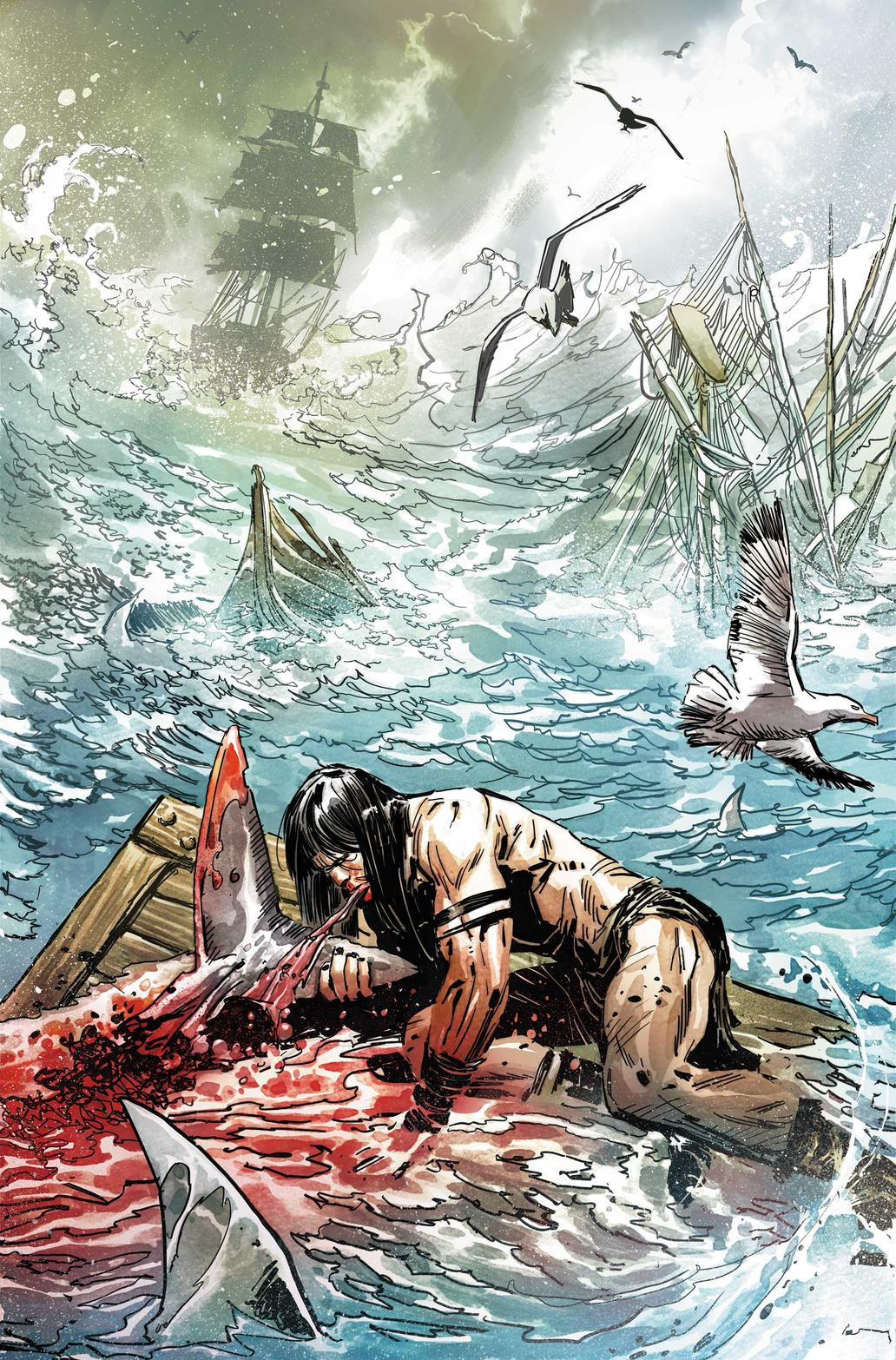 Ron Garney art from Savage Sword of Conan
