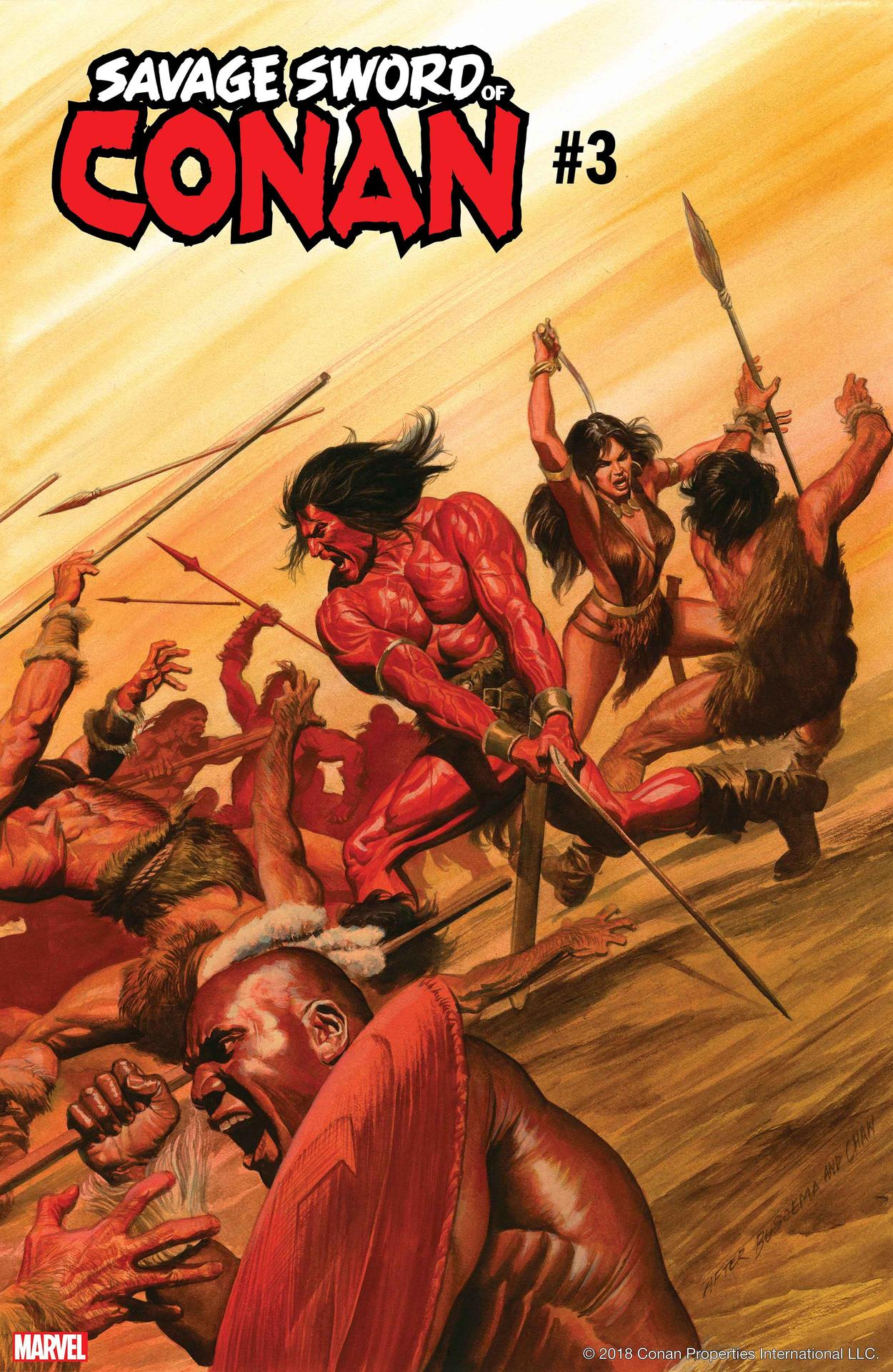 Cover of Savage Sword of Conan #3