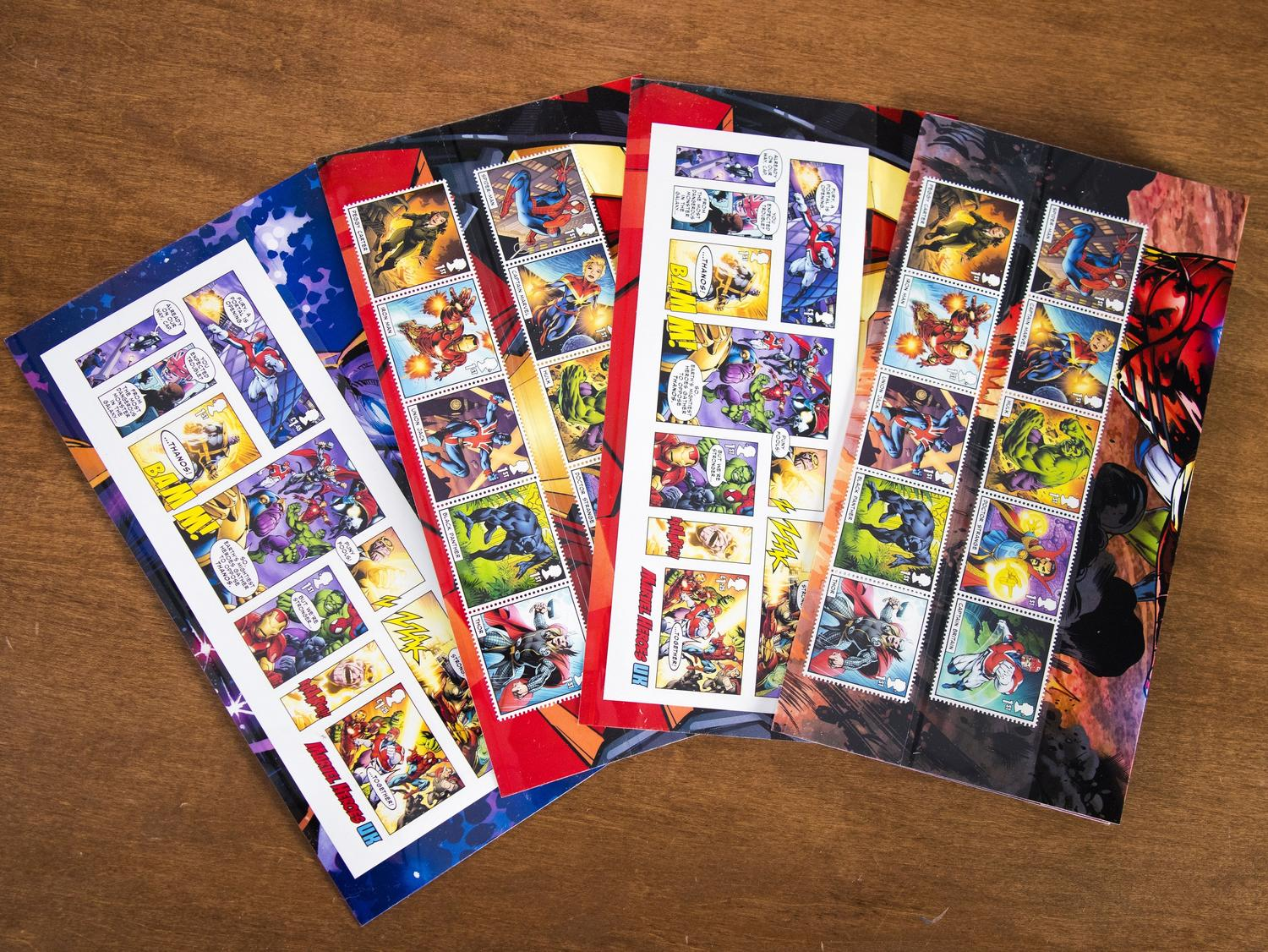 Marvel Stamps