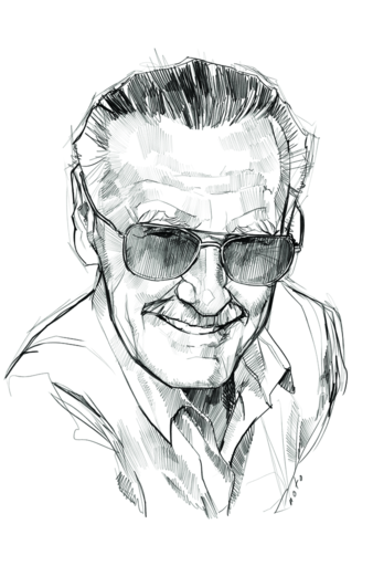 Stan Lee by Phil Noto
