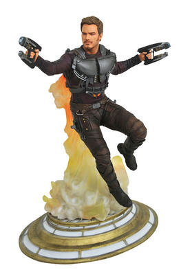 Marvel Movie Gallery GOTG Vol. 2 Star-Lord Unmasked PVC Diorama