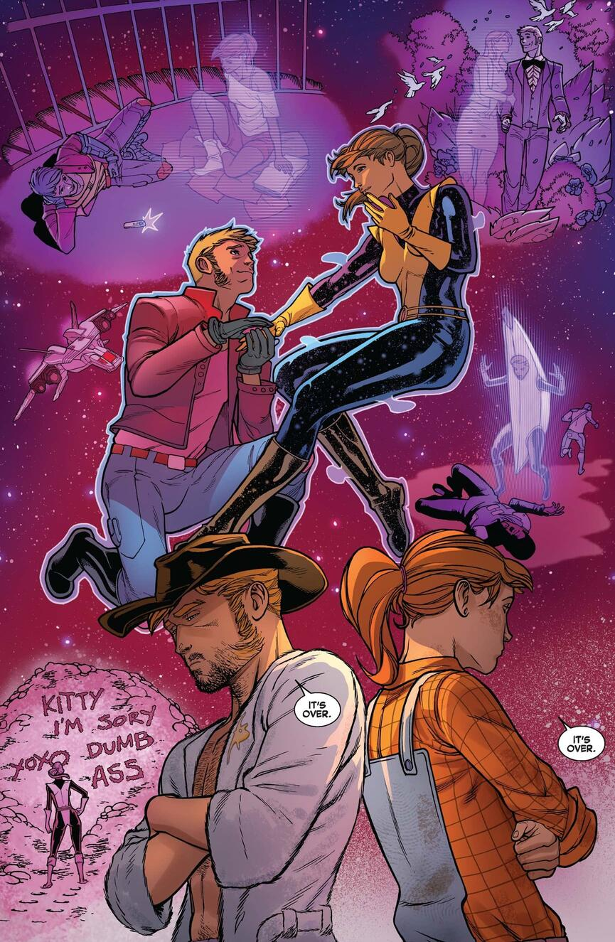 Kitty Pryde/Star-Lord