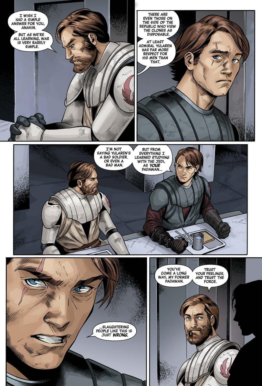 Anakin challenges the cost of war in STAR WARS: AGE OF REPUBLIC - ANAKIN SKYWALKER (2019) #1.