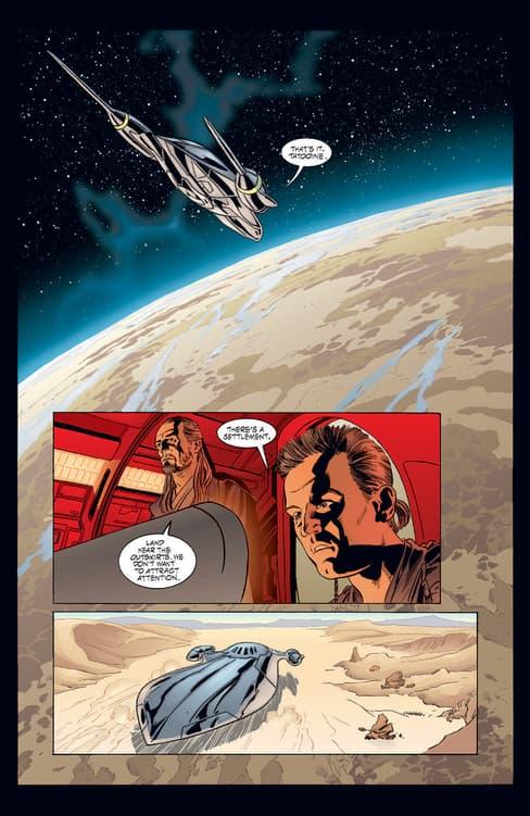 A touchdown on Tatooine.