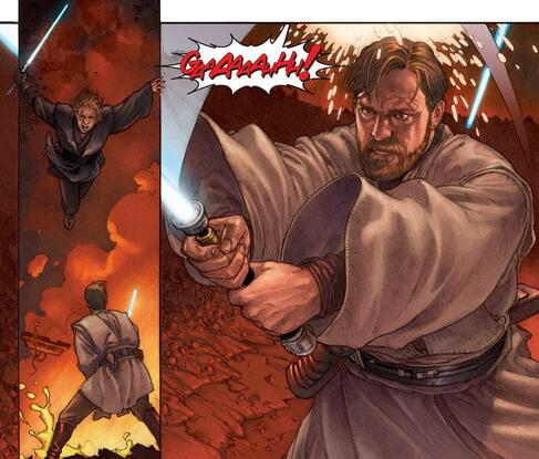 A fateful battle on Mustafar in STAR WARS: EPISODE III - REVENGE OF THE SITH (2005) #4.