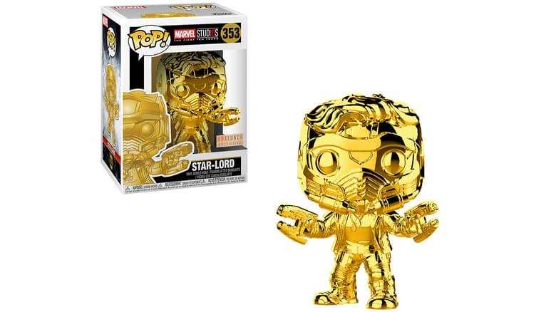 Star-Lord Marvel Studios 10 Chrome Funko Pop!