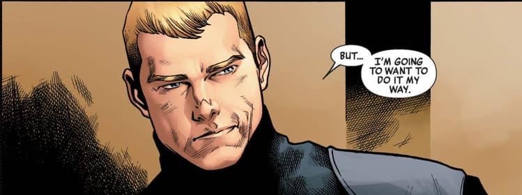 Steve Rogers Secret Avenger