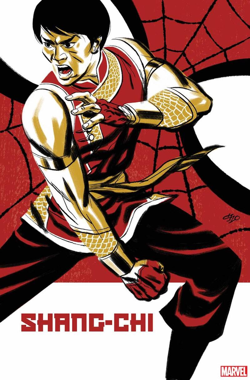 SHANG-CHI (2021) #1 variant cover by Michael Cho