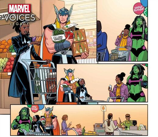 Marvel's Voices: Legacy #1
