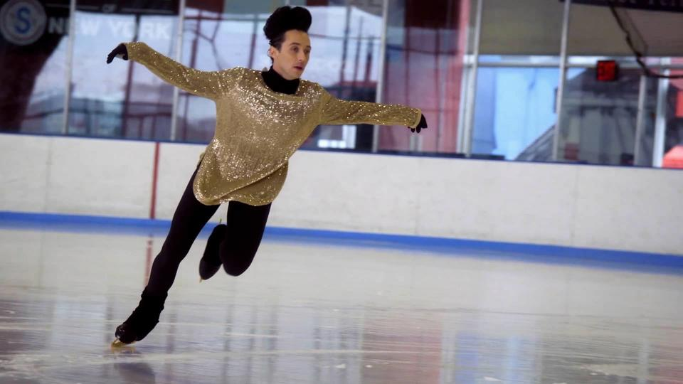 Johnny Weir on Marvel's Storyboards