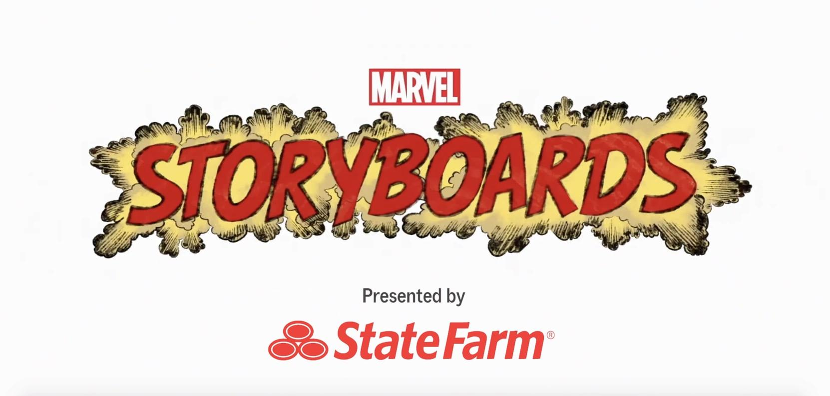 Marvel's Storyboards