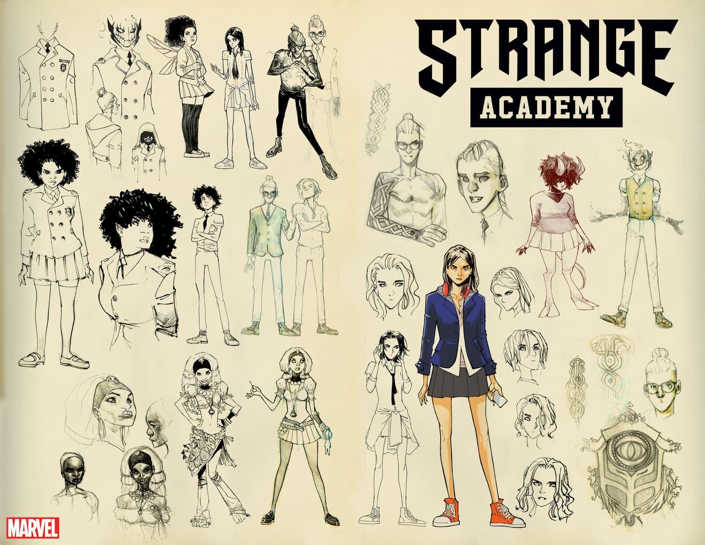 Humberto Ramos character designs