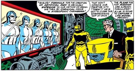 Esaminando la tecnologia in STRANGE TALES (1951) # 148.